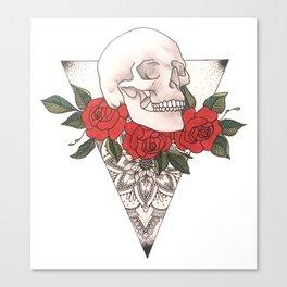 Bones of the Garden Canvas Print