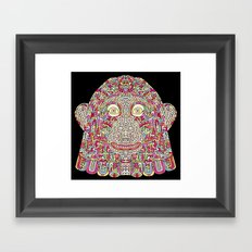 Space Monkey I Framed Art Print