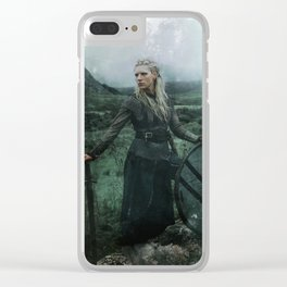 Shieldmaiden Clear iPhone Case