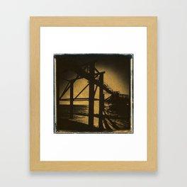 The West Pier Framed Art Print