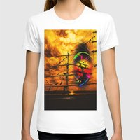 sail T-shirts featuring Under sail  by Walter Zettl