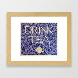 Drink Me (Vintage Version) Framed Art Print