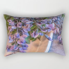 Gardener's Bouquet Casual Cut Flower Still Life Rectangular Pillow