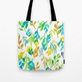 180726 Abstract Leaves Botanical 4 |Botanical Illustrations Tote Bag