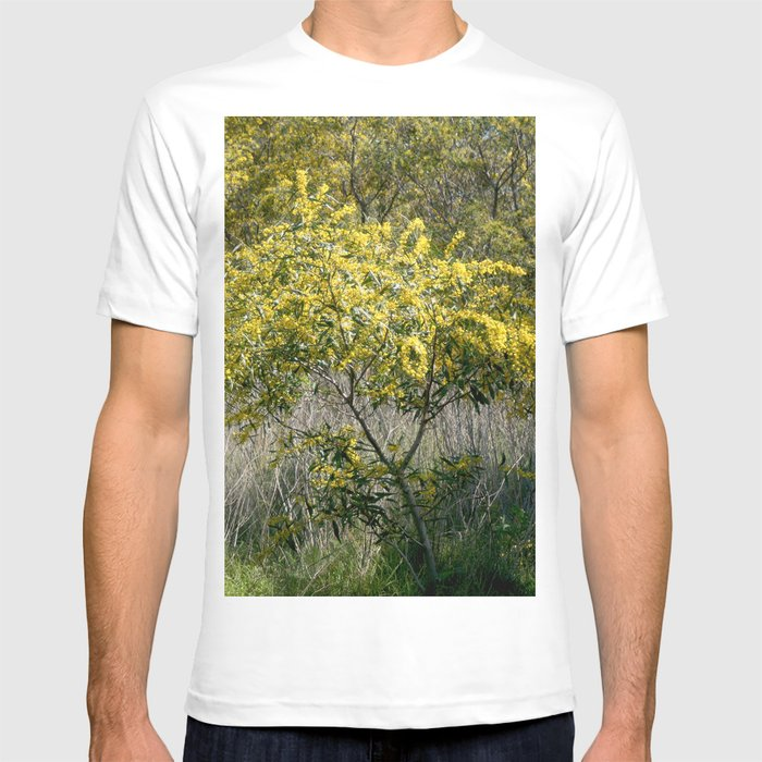 Flowering Acacia Tree T Shirt By Annaki Society6