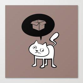 minima - derpicat | box Canvas Print