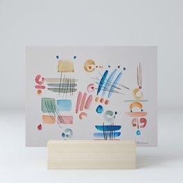 Pensierini della sera Mini Art Print