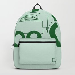 Happy Farmer [TRACTOR] Backpack