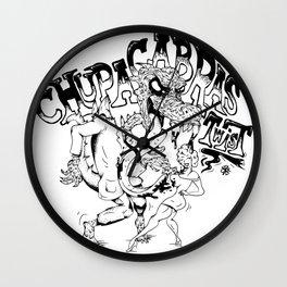 Chupacabras Twist Wall Clock