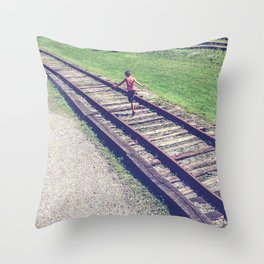 Little Skipper Throw Pillow
