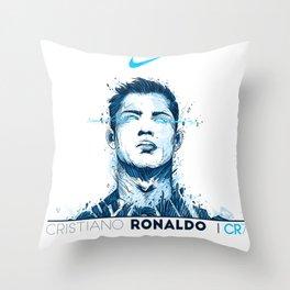 Cristiano CR7 Juve Throw Pillow
