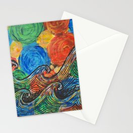 Waves in my Dreams Stationery Cards