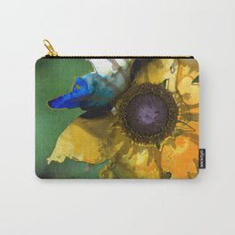 Modern Flower Art - Untamed Beauty - Sharon Cummings Carry-All Pouch