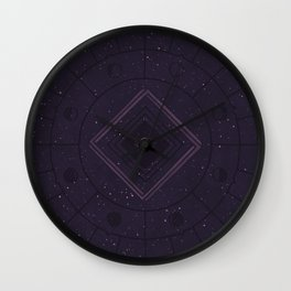 Cosmic Dreaming Wall Clock