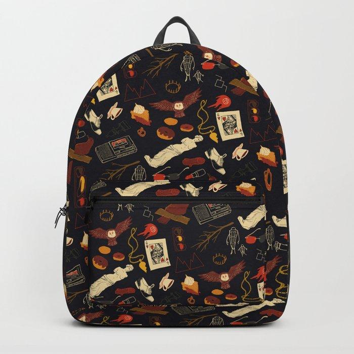 """Twin Peaks"" Pattern Design Backpack"