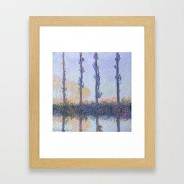 The Four Trees Framed Art Print
