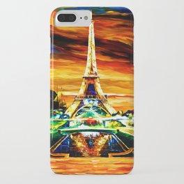 WATERCOLOR EIFFEL TOWER PARIS iPhone Case