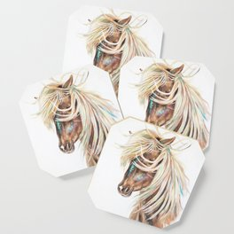 ICELANDIC HORSE // STAY WILD Coaster