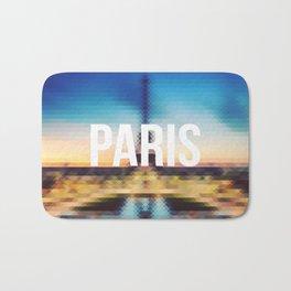 Paris - Cityscape Bath Mat