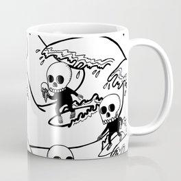 surferSkeleton Coffee Mug