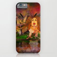 Wisdom only spreads its wings when souls true light begins to sing Slim Case iPhone 6s