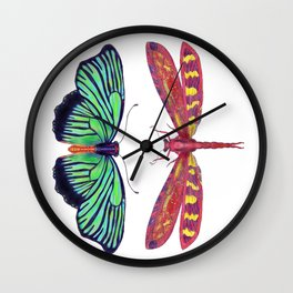 Hal and Red Wall Clock