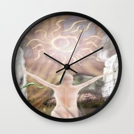 The Ritual of the Old Gods Wall Clock