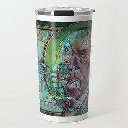 In Dependence We Trust Travel Mug