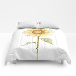 Sunflower 01 Comforters