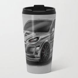Porsch Cayenne Gray Artrace body-kit Travel Mug