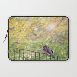 Bird, Central Park, New York City Laptop Sleeve