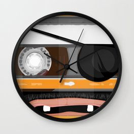 The cassette tape pirate Wall Clock