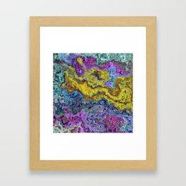 blurry spots Framed Art Print