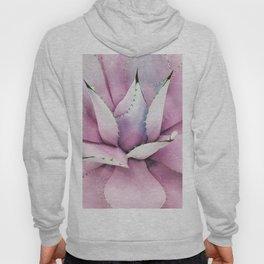 Pink Succulent Hoody