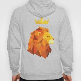 Geometric Lion Hoody
