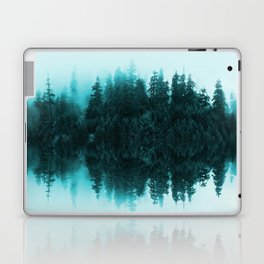 Cloudy Forest Laptop & iPad Skin