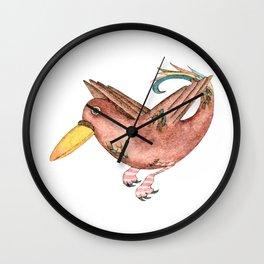Dressed birds 02 Wall Clock