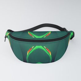 Arch Echoes on Green Fanny Pack