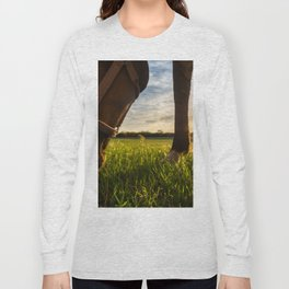 Grazig at Sunst Long Sleeve T-shirt