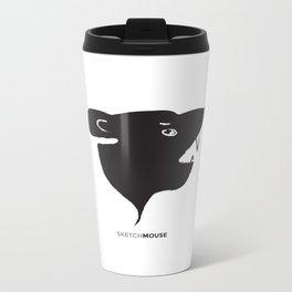 SketchMouse Metal Travel Mug