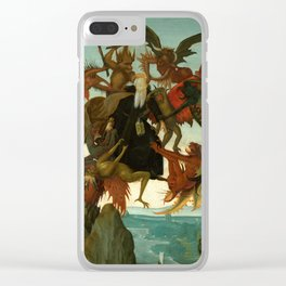 "Michelangelo Buonarroti ""The Torment of Saint Anthony"" Clear iPhone Case"