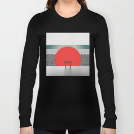 The Red Sun Long Sleeve T-shirt