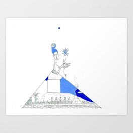 paper_3 Art Print