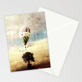 tree - air baloon Stationery Cards