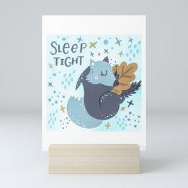 Sleep Tight Mini Art Print