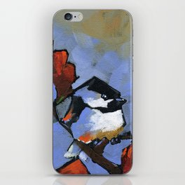 chicka-chicka chickadee iPhone Skin
