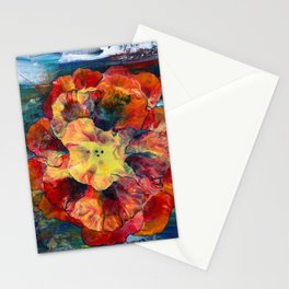 Bloomin' Denim Stationery Cards