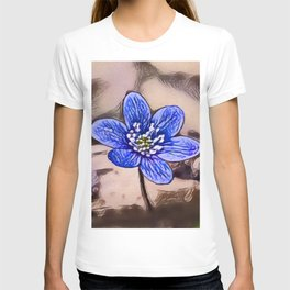 Liverleaf Dream   Painting  T-shirt