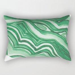 Malachite Specimen I Rectangular Pillow