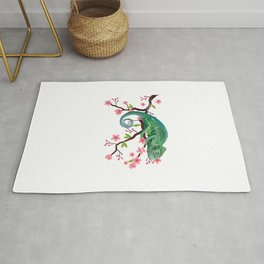 Floral Decorations Reptile Rug